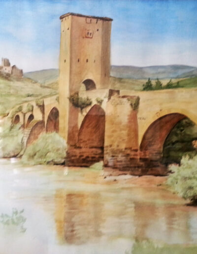 Brücke über die Ola
